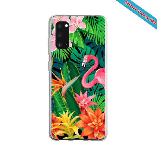 Coque silicone Huawei MATE 30 LITE Summer party