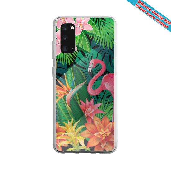Coque silicone Galaxy A10S Fan d'Overwatch Soldat 76 super hero