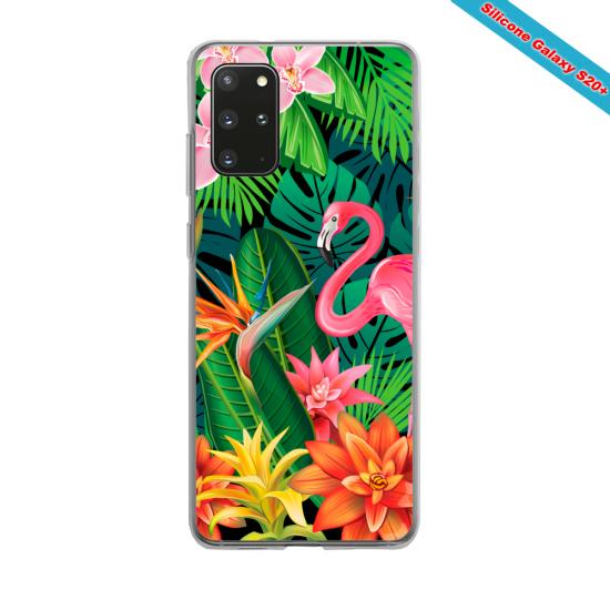 Coque silicone Huawei MATE 30 LITE Yoga Papillon