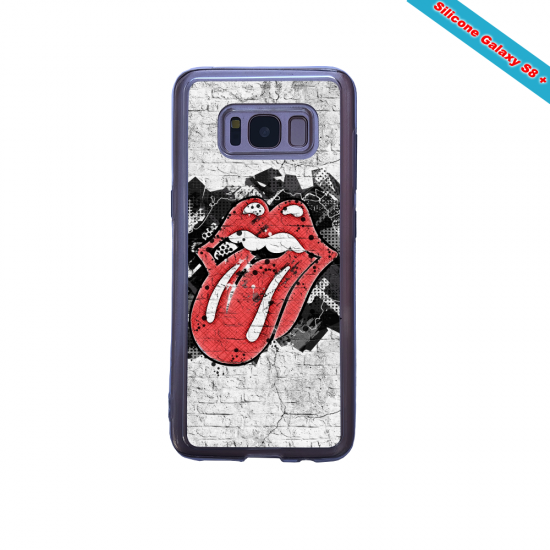 Coque silicone Galaxy A20-A30 Fan d'Overwatch Bastion super hero