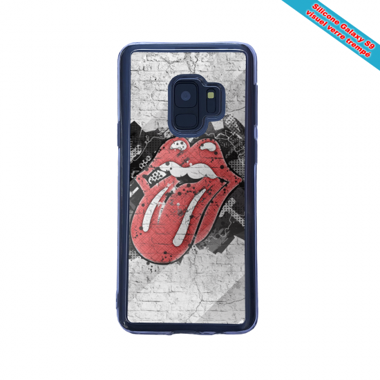 Coque silicone Galaxy A20-A30 Fan d'Overwatch Ashe super hero