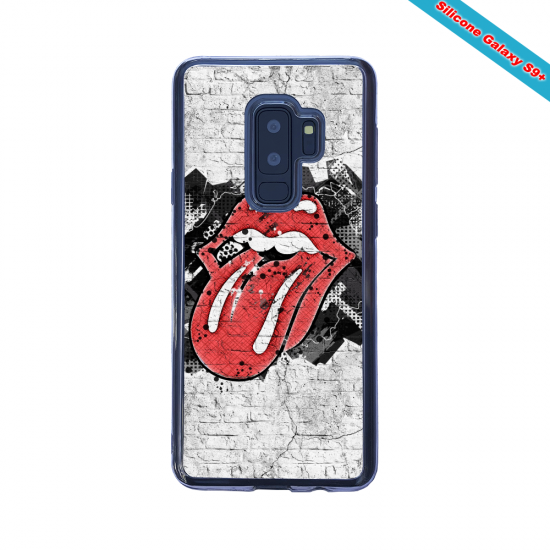 Coque silicone Galaxy A20-A30 Fan d'Overwatch Ange super hero