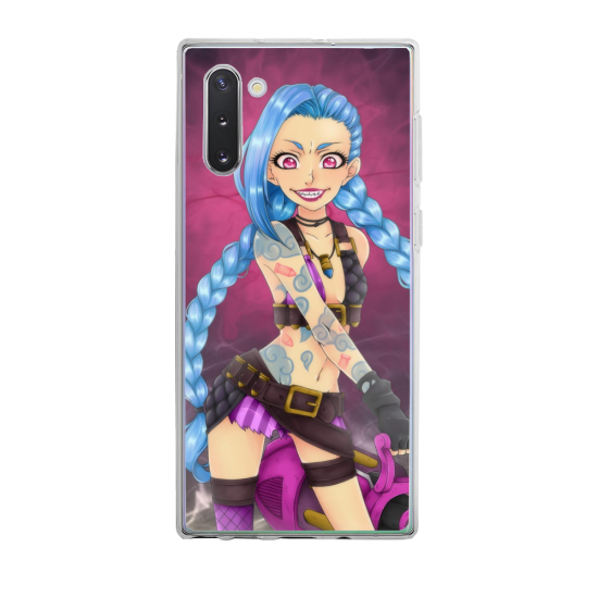 Coque silicone Galaxy A21S Ours mandala