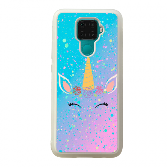 Coque silicone Galaxy A40S ou M30 Fan de Ligue 1 Rennes splatter