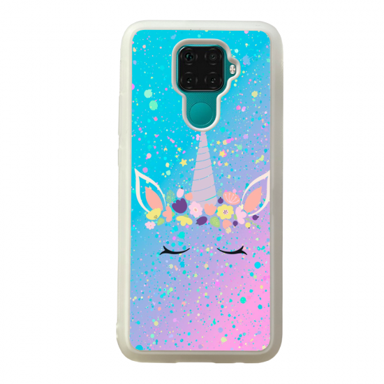 Coque silicone Galaxy A40S ou M30 Fan de Ligue 1 Reims splatter