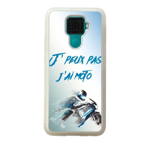 Coque silicone Galaxy A40S ou M30 Fan de Ligue 1 Nimes splatter