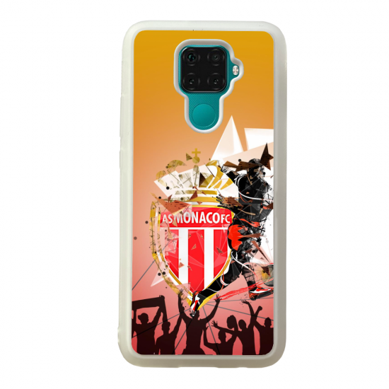 Coque silicone Galaxy A40S ou M30 Fan de Ligue 1 Toulouse cosmic