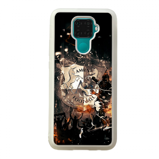 Coque silicone Galaxy A40S ou M30 Fan de Ligue 1 Paris cosmic