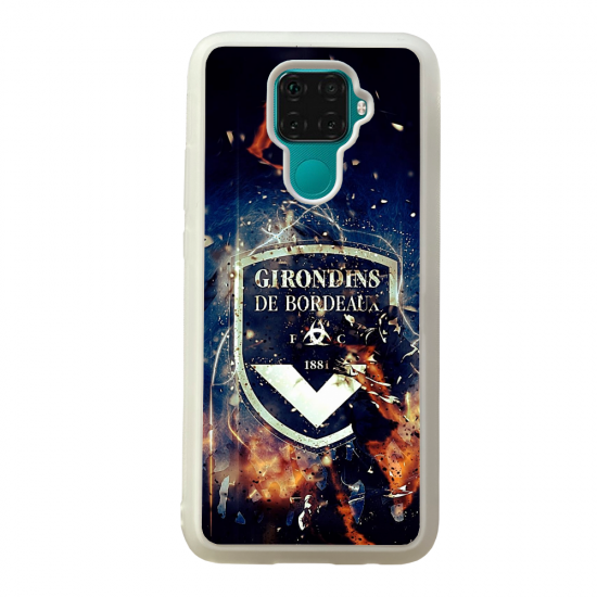 Coque silicone Galaxy A40S ou M30 Fan de Ligue 1 Nice cosmic