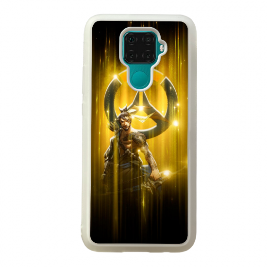 Coque silicone Galaxy A40S ou M30 Fan d'Overwatch McCree super hero