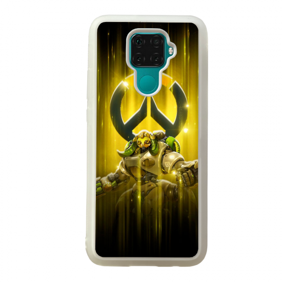 Coque silicone Galaxy A40S ou M30 Fan d'Overwatch Fatale super hero