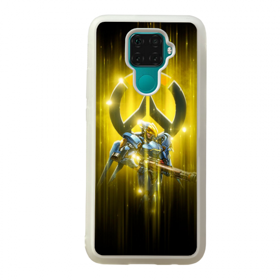 Coque silicone Galaxy A40S ou M30 Fan d'Overwatch Doomfist super hero
