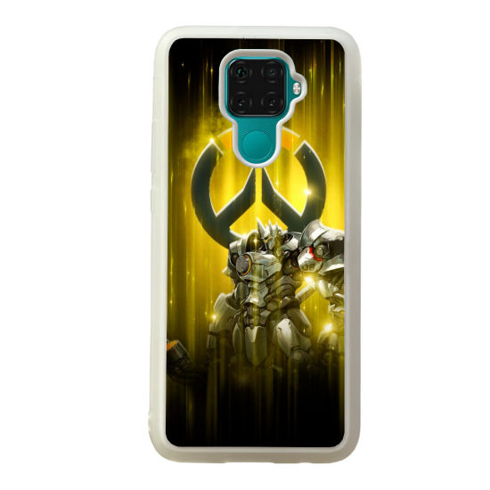 Coque silicone Galaxy A40S ou M30 Fan d'Overwatch D.Va super hero