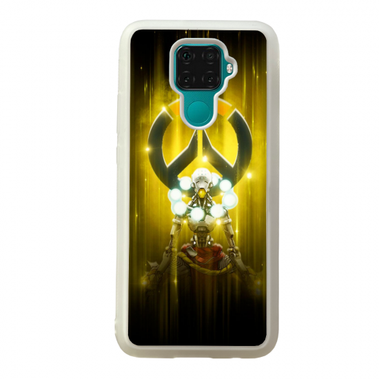 Coque silicone Galaxy A40S ou M30 Fan d'Overwatch ana super hero