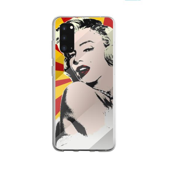 Coque silicone Galaxy A40S ou M30 Fan de BMW sport version super héro