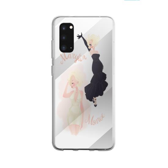 Coque silicone Galaxy A40S ou M30 Fan de BMW version super héro