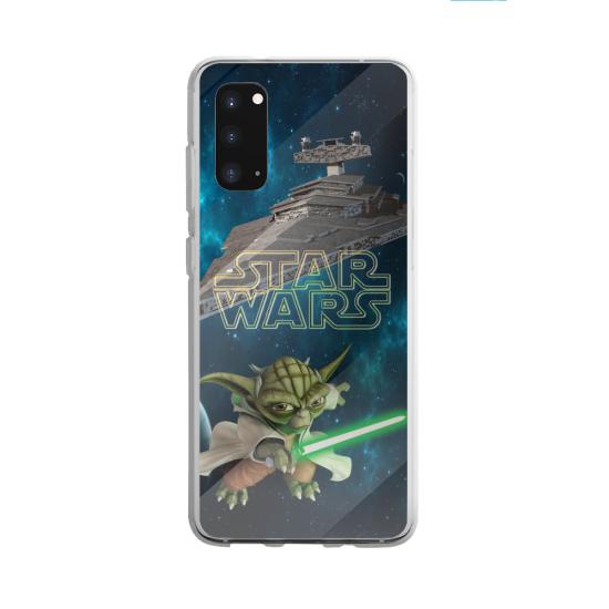 Coque silicone Galaxy A40S ou M30 Yoga Papillon