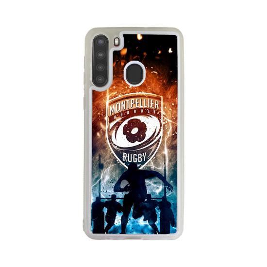 Coque silicone Galaxy A51 Fan de Yamaha Obsidienne