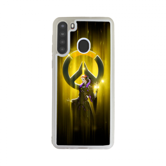Coque Silicone Galaxy S7 Fan de Yamaha Obsidienne