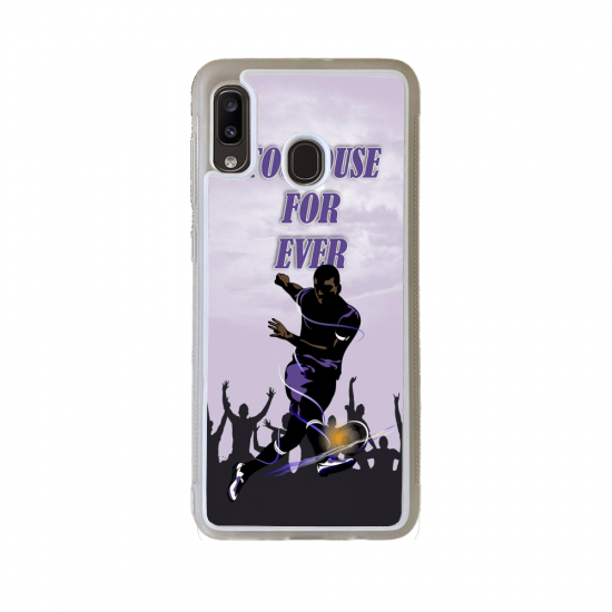 Coque silicone Iphone SE 2020 Fan de Ducati Obsidienne