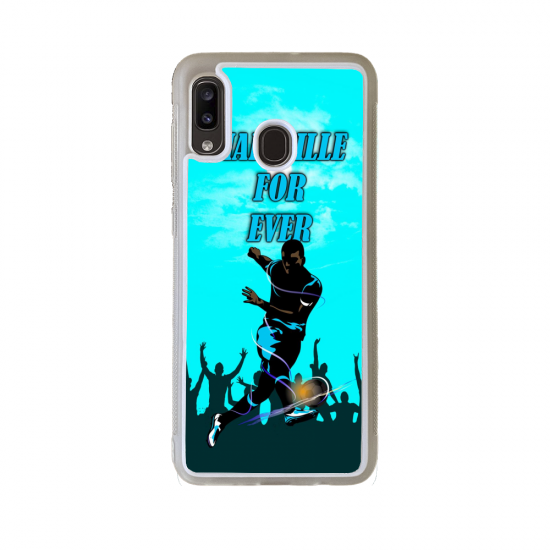 Coque silicone Iphone SE 2020 verre trempé Fan de Ducati Obsidienne