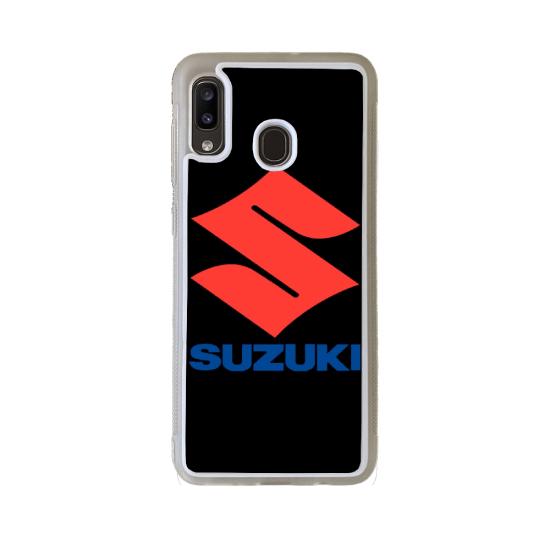 Coque silicone Galaxy A40S Fan de Ducati Obsidienne