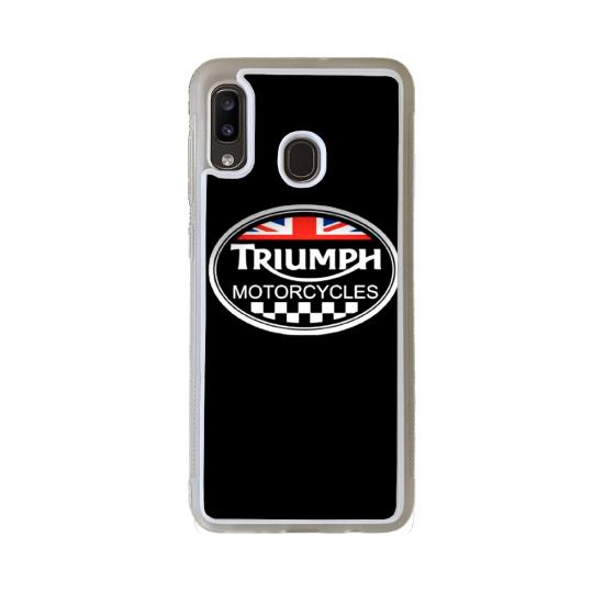 Coque silicone Galaxy M30 Fan de Ducati Obsidienne