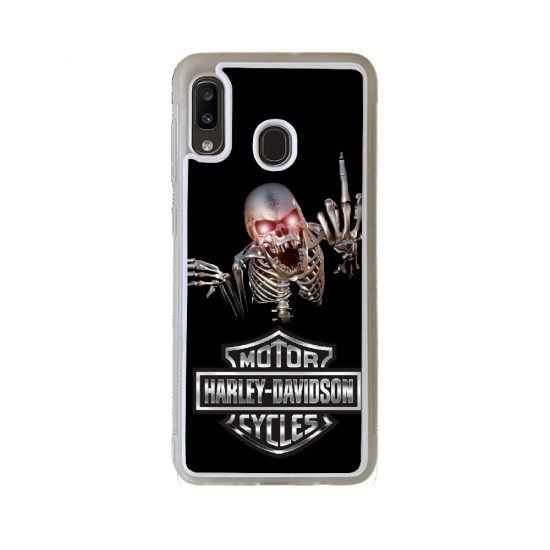 Coque silicone Galaxy A41 Fan de Ducati Obsidienne