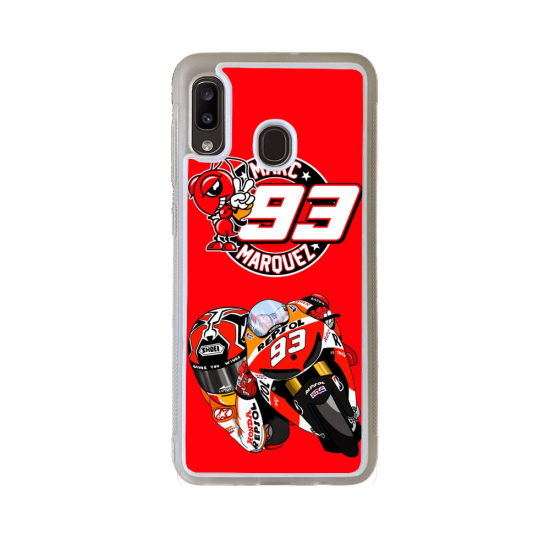 Coque silicone Galaxy A51 Fan de Ducati Obsidienne