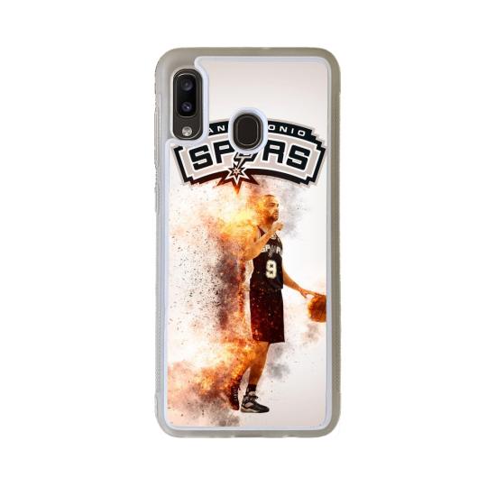Coque silicone Galaxy J4 CORE Fan de Ducati Obsidienne