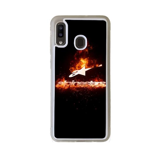 Coque Silicone Galaxy S8 PLUS Fan de Ducati Obsidienne