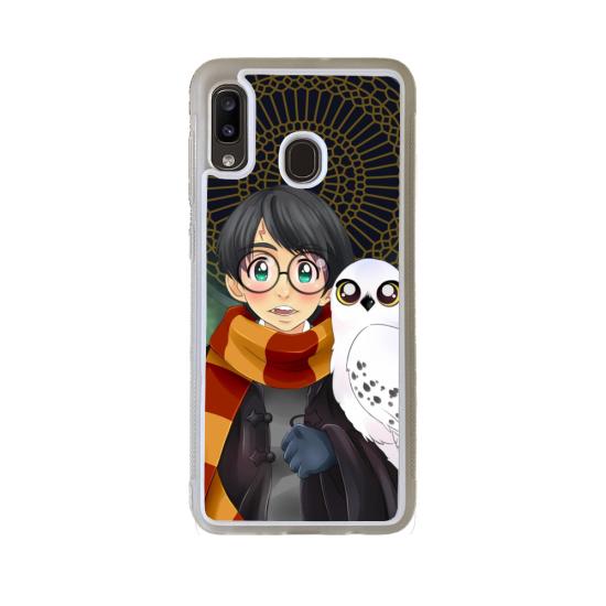 Coque silicone Huawei P20 LITE 2019 Fan de Ducati Obsidienne