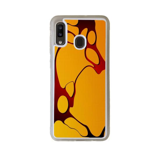 Coque Silicone iphone 5/5S/SE Fan de Rugby La Rochelle Géometrics