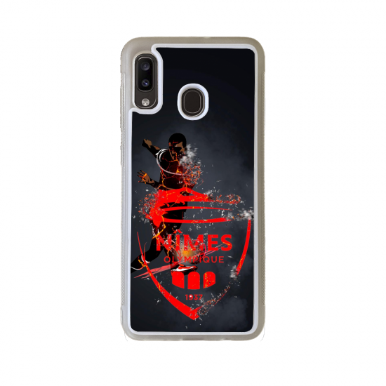 Coque Silicone iphone 5C Fan de Rugby Clermont Géometrics