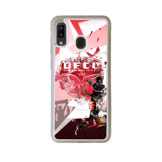 Coque Silicone iphone 5C Fan de Rugby Racing 92 Géometrics