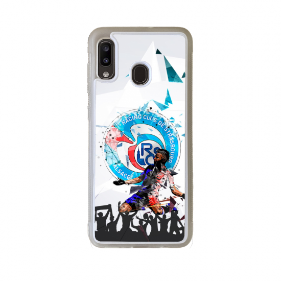 Coque Silicone iphone 5C Fan de Rugby Bayonne Destruction