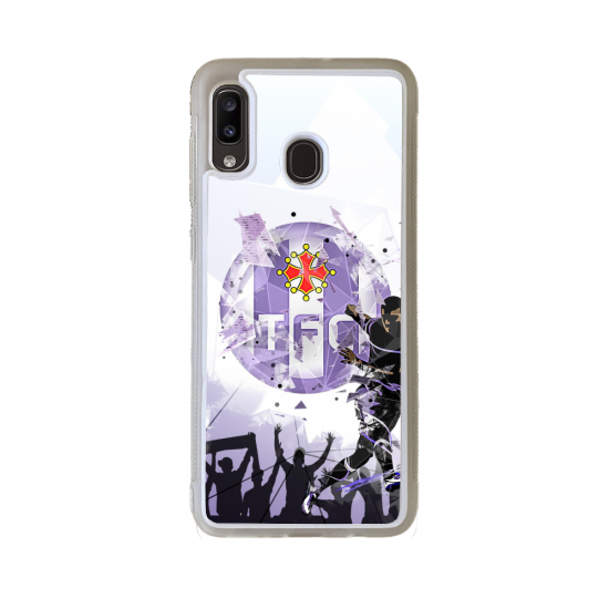 Coque Silicone iphone 5C Fan de Rugby Bordeaux Destruction