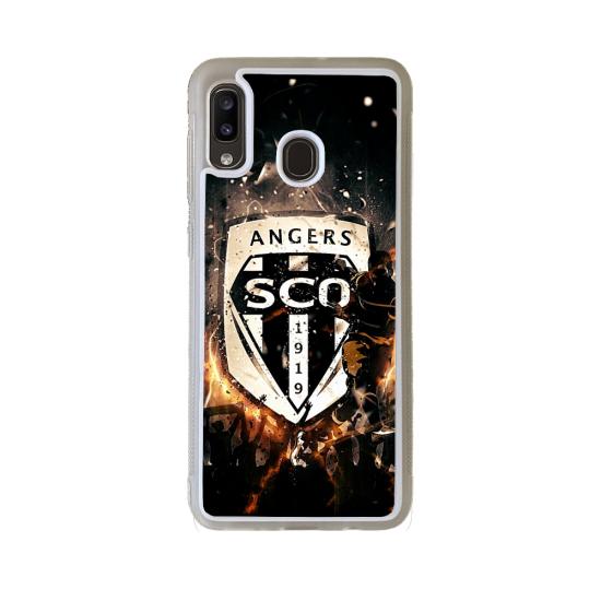 Coque Silicone iphone 5C Fan de Rugby Castres Destruction
