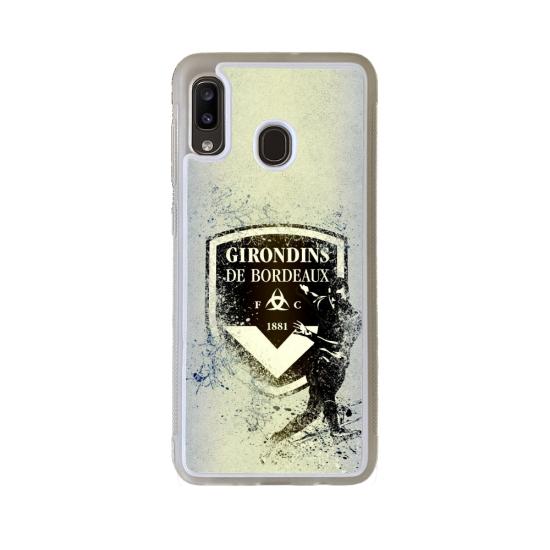 Coque silicone Iphone 6/6S Fan de Rugby Pau Géometrics