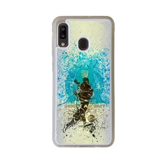 Coque silicone Iphone 6/6S Fan de Rugby Agen Destruction
