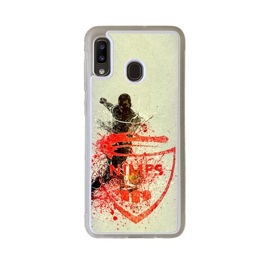 Coque silicone Iphone 6/6S Fan de Rugby Lyon Destruction