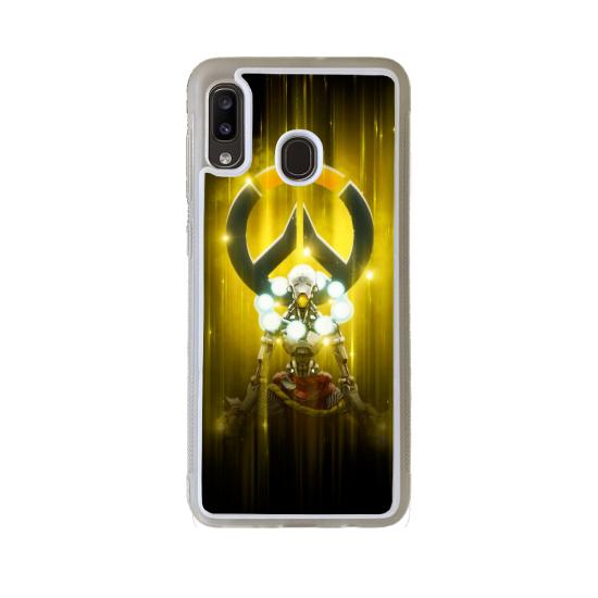 Coque silicone Iphone 6/6S verre Trempé Fan de Rugby Clermont Géometrics