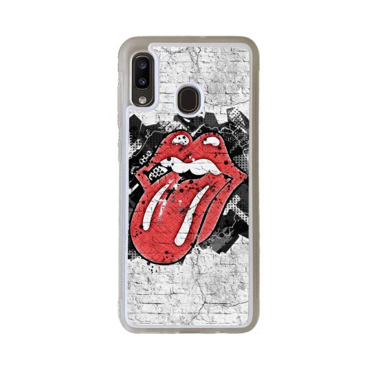 Coque silicone Iphone 6/6S verre Trempé Fan de Rugby Castres Destruction