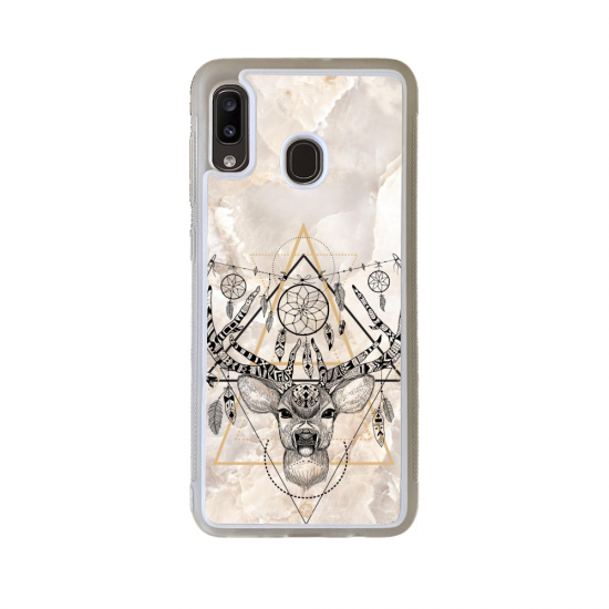 Coque silicone Iphone 6/6S verre Trempé Fan de Rugby Montpellier Destruction