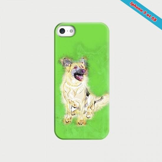 Coque Manga Iphone 4 et 4S Harley Quinn