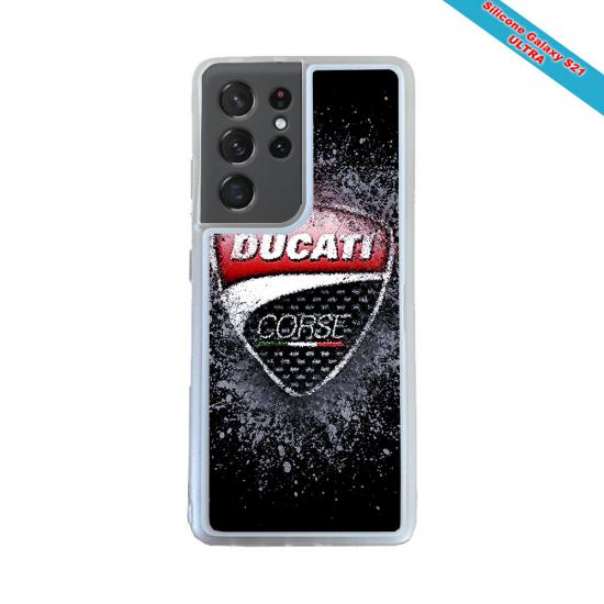 Coque silicone Galaxy M30 Fan de Rugby Brive Obsidienne