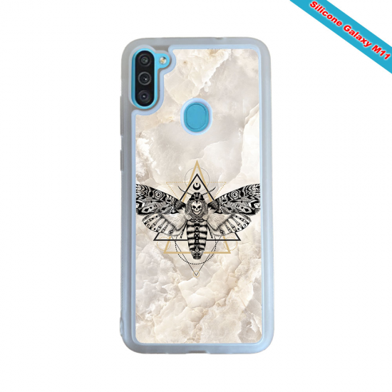 Coque silicone Galaxy A40S Fan de Rugby Toulouse Obsidienne