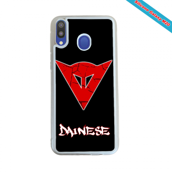 Coque silicone Galaxy M30 Fan de Rugby Toulouse Obsidienne