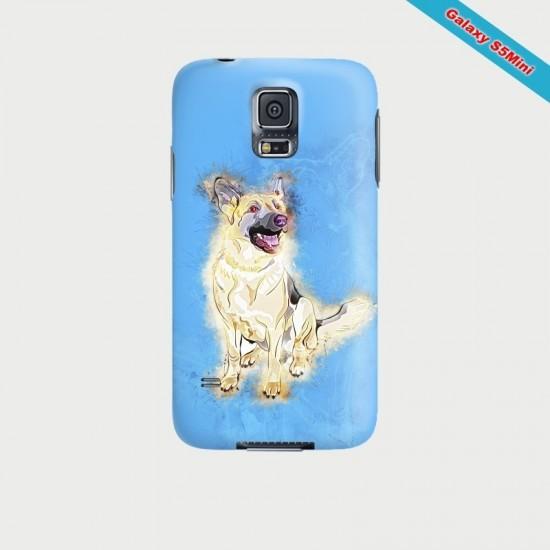 Coque Galaxy S5Mini Fan de Marylin Monroe en couleurs