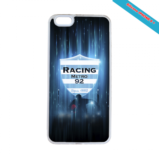 Coque silicone Galaxy J6 Fan de Rugby Montpellier Super héro